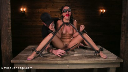 Photo number 7 from A Rose By Any Other Name shot for Device Bondage on Kink.com. Featuring Kristina Rose and The Pope in hardcore BDSM & Fetish porn.