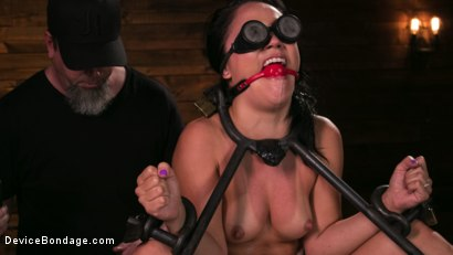Photo number 6 from A Rose By Any Other Name shot for Device Bondage on Kink.com. Featuring Kristina Rose and The Pope in hardcore BDSM & Fetish porn.