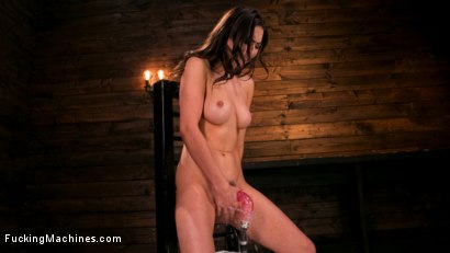 Photo number 14 from All Natural New Girl Squirts Everywhere From Machine Fucking shot for Fucking Machines on Kink.com. Featuring Melissa Moore in hardcore BDSM & Fetish porn.