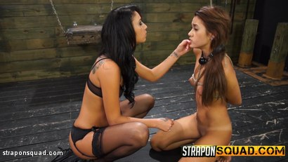 Photo number 5 from Marina Angel Endures Lesbian Domination with Esmi Lee & Abella Danger shot for Strapon Squad on Kink.com. Featuring Marina Angel, Abella Danger and Esmi Lee in hardcore BDSM & Fetish porn.