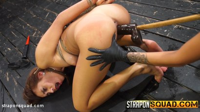 Photo number 6 from Marina Angel Endures Lesbian Domination with Esmi Lee & Abella Danger shot for Strapon Squad on Kink.com. Featuring Marina Angel, Abella Danger and Esmi Lee in hardcore BDSM & Fetish porn.