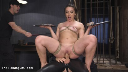 Photo number 17 from Polite Obedient Slut Takes It shot for The Training Of O on Kink.com. Featuring Mandy Muse and Owen Gray in hardcore BDSM & Fetish porn.
