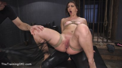 Photo number 24 from Polite Obedient Slut Takes It shot for The Training Of O on Kink.com. Featuring Mandy Muse and Owen Gray in hardcore BDSM & Fetish porn.