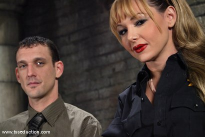 Photo number 1 from Steven Sweat and Danielle Foxxx shot for TS Seduction on Kink.com. Featuring Danielle Foxx and Steven Sweat in hardcore BDSM & Fetish porn.