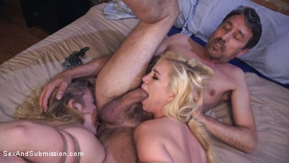 Photo number 10 from My Slutty Cousin shot for Sex And Submission on Kink.com. Featuring Lyra Law, Steve Holmes and Chloe Cherry in hardcore BDSM & Fetish porn.