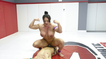 Photo number 12 from Muscle Goddesses Battle on the Mats shot for Ultimate Surrender on Kink.com. Featuring Cheyenne Jewel and Brandi Mae in hardcore BDSM & Fetish porn.