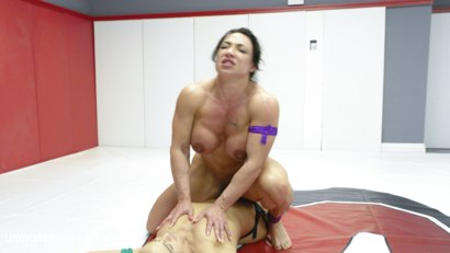 Photo number 15 from muscle Goddesses Battle on the mats shot for Ultimate Surrender on Kink.com. Featuring Cheyenne Jewel and Brandi Mae in hardcore BDSM & Fetish porn.