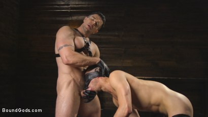 Photo number 13 from New boy with a big cock at Mr Ducati's mercy shot for Bound Gods on Kink.com. Featuring Trenton Ducati and Nate Grimes in hardcore BDSM & Fetish porn.