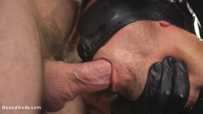 Photo number 14 from New boy with a big cock at Mr Ducati's mercy shot for Bound Gods on Kink.com. Featuring Trenton Ducati and Nate Grimes in hardcore BDSM & Fetish porn.
