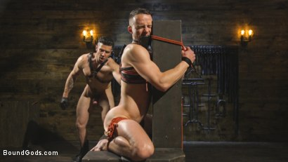Photo number 8 from New boy with a big cock at Mr Ducati's mercy shot for Bound Gods on Kink.com. Featuring Trenton Ducati and Nate Grimes in hardcore BDSM & Fetish porn.