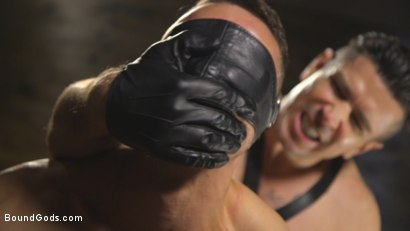 Photo number 10 from New boy with a big cock at Mr Ducati's mercy shot for Bound Gods on Kink.com. Featuring Trenton Ducati and Nate Grimes in hardcore BDSM & Fetish porn.