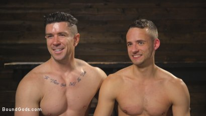 Photo number 15 from New boy with a big cock at Mr Ducati's mercy shot for Bound Gods on Kink.com. Featuring Trenton Ducati and Nate Grimes in hardcore BDSM & Fetish porn.