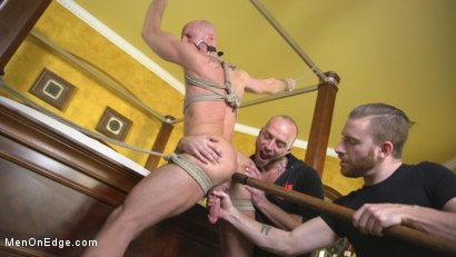 Photo number 8 from Muscled Hunk Ass Fucked While Begging to Cum shot for Men On Edge on Kink.com. Featuring Mitch Vaughn in hardcore BDSM & Fetish porn.