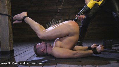 Photo number 12 from Connor Patricks - Ass Torment shot for 30 Minutes of Torment on Kink.com. Featuring Connor Patricks in hardcore BDSM & Fetish porn.