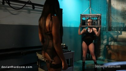Photo number 1 from Diamonds In The Rough: Ana Foxxx, Katie St. Ives shot for Deviant Hardcore on Kink.com. Featuring Ana Foxxx and Katie St. Ives in hardcore BDSM & Fetish porn.