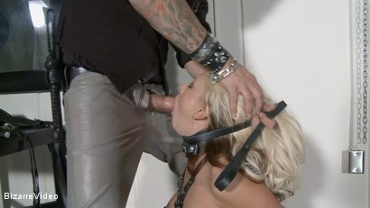 Photo number 11 from Tamed Passion: Briana Blair, Barrett Blade shot for Bizarre Video on Kink.com. Featuring  in hardcore BDSM & Fetish porn.
