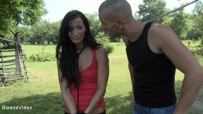 Photo number 1 from A Farmer's New Slave: Baily, Igor shot for Bizarre Video on Kink.com. Featuring  in hardcore BDSM & Fetish porn.