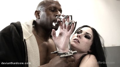 Photo number 4 from Submission: Veruca James, Prince Yahshua shot for Deviant Hardcore on Kink.com. Featuring Veruca James and Prince Yahshua in hardcore BDSM & Fetish porn.