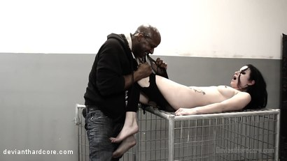 Photo number 5 from Submission: Veruca James, Prince Yahshua shot for Deviant Hardcore on Kink.com. Featuring Veruca James and Prince Yahshua in hardcore BDSM & Fetish porn.