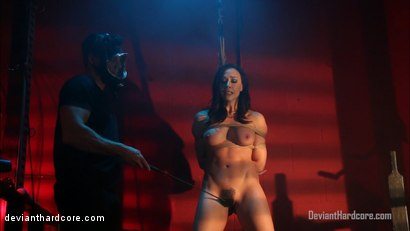 Photo number 1 from Bound For Domination: Chanel Preston, Ramon Nomar shot for Deviant Hardcore on Kink.com. Featuring Chanel Preston and Ramon Nomar in hardcore BDSM & Fetish porn.