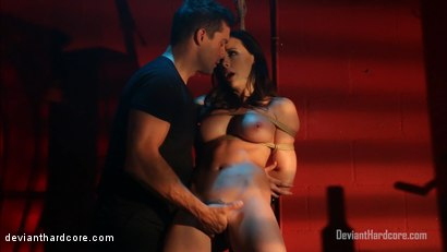 Photo number 4 from Bound For Domination: Chanel Preston, Ramon Nomar shot for Deviant Hardcore on Kink.com. Featuring Chanel Preston and Ramon Nomar in hardcore BDSM & Fetish porn.