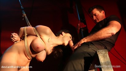 Photo number 7 from Bound For Domination: Chanel Preston, Ramon Nomar shot for Deviant Hardcore on Kink.com. Featuring Chanel Preston and Ramon Nomar in hardcore BDSM & Fetish porn.