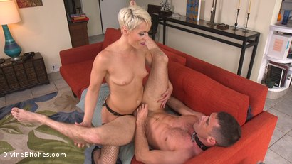Photo number 19 from Helena Locke Takes Down The Douchebag shot for Divine Bitches on Kink.com. Featuring Helena Locke and Lance Hart in hardcore BDSM & Fetish porn.