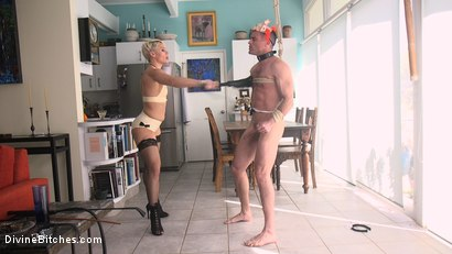 Photo number 7 from Helena Locke Takes Down The Douchebag shot for Divine Bitches on Kink.com. Featuring Helena Locke and Lance Hart in hardcore BDSM & Fetish porn.