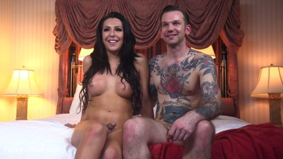 Photo number 34 from Gorgeous Chanel Santini Makes Will Havoc's Fantasy Come True shot for TS Seduction on Kink.com. Featuring Chanel Santini and Will Havoc in hardcore BDSM & Fetish porn.