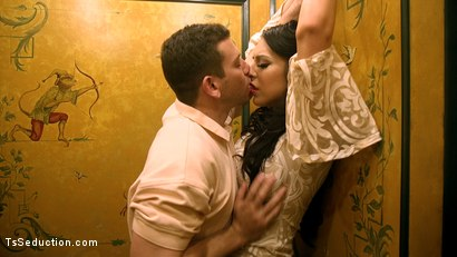 Photo number 2 from Chanel Santini Gives And Takes... And Takes shot for TS Seduction on Kink.com. Featuring Chanel Santini and Reed Jameson in hardcore BDSM & Fetish porn.