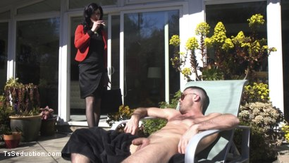 Photo number 16 from Repo My Asshole!: Repo Goddess Blackmails Slutty Homeowner shot for TS Seduction on Kink.com. Featuring Lance Hart and Stefani Special in hardcore BDSM & Fetish porn.