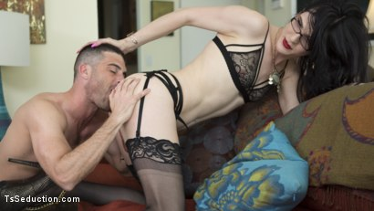 Photo number 17 from Repo My Asshole!: Repo Goddess Blackmails Slutty Homeowner shot for TS Seduction on Kink.com. Featuring Lance Hart and Stefani Special in hardcore BDSM & Fetish porn.