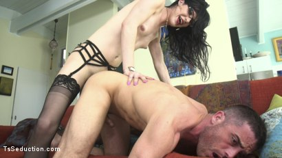 Photo number 19 from Repo My Asshole!: Repo Goddess Blackmails Slutty Homeowner shot for TS Seduction on Kink.com. Featuring Lance Hart and Stefani Special in hardcore BDSM & Fetish porn.