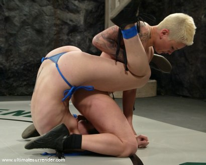 Photo number 2 from The Nightmare (7-2) Ranked 3th<br>Rogue(0-1) Ranked 14th shot for Ultimate Surrender on Kink.com. Featuring Syd Blakovich and Amber Rayne in hardcore BDSM & Fetish porn.