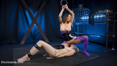 Photo number 16 from Cherry Torn Plays with her Masochistic Electro-Painslut shot for Electro Sluts on Kink.com. Featuring Cherry Torn and Riley Reyes in hardcore BDSM & Fetish porn.
