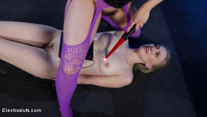 Photo number 23 from Cherry Torn Plays with her Masochistic Electro-Painslut shot for Electro Sluts on Kink.com. Featuring Cherry Torn and Riley Reyes in hardcore BDSM & Fetish porn.