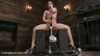 Photo number 2 from Insatiable Sex Vixen Gets Power Fucked shot for Fucking Machines on Kink.com. Featuring Kimber Woods in hardcore BDSM & Fetish porn.
