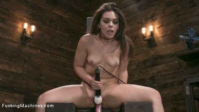 Photo number 11 from Insatiable Sex Vixen Gets Power Fucked shot for Fucking Machines on Kink.com. Featuring Kimber Woods in hardcore BDSM & Fetish porn.