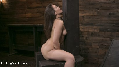 Photo number 9 from Insatiable Sex Vixen Gets Power Fucked shot for Fucking Machines on Kink.com. Featuring Kimber Woods in hardcore BDSM & Fetish porn.