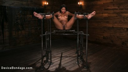 Photo number 10 from Fresh Meat - Sadie Santana  shot for Device Bondage on Kink.com. Featuring Sadie Santana and The Pope in hardcore BDSM & Fetish porn.