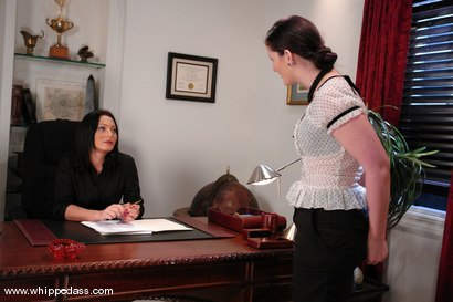 Photo number 1 from Caroline Pierce and Sandra Romain shot for Whipped Ass on Kink.com. Featuring Sandra Romain and Caroline Pierce in hardcore BDSM & Fetish porn.