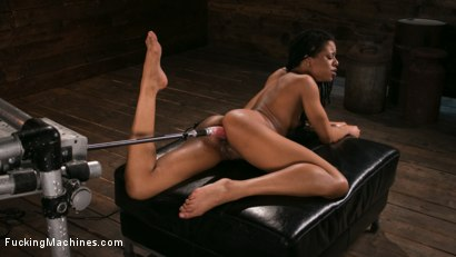 Photo number 15 from Young and Athletic Ebony Bombshell Gets an Anal Machine-Fucking shot for Fucking Machines on Kink.com. Featuring Kira Noir in hardcore BDSM & Fetish porn.