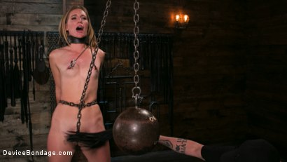 Photo number 2 from One Bad-Ass Bitch - Mona Wales shot for Device Bondage on Kink.com. Featuring The Pope and Mona Wales in hardcore BDSM & Fetish porn.