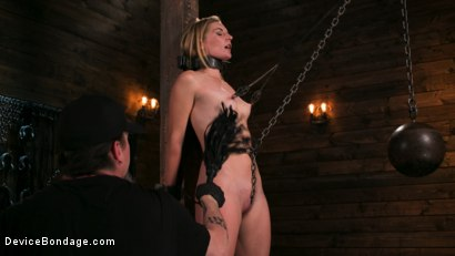 Photo number 3 from One Bad-Ass Bitch - Mona Wales shot for Device Bondage on Kink.com. Featuring The Pope and Mona Wales in hardcore BDSM & Fetish porn.