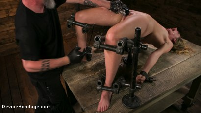 Photo number 7 from One Bad-Ass Bitch - Mona Wales shot for Device Bondage on Kink.com. Featuring The Pope and Mona Wales in hardcore BDSM & Fetish porn.