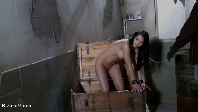 Photo number 16 from Nubile Cargo: Lana shot for Bizarre Video on Kink.com. Featuring  in hardcore BDSM & Fetish porn.