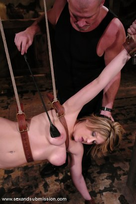 Photo number 7 from Tyla Wynn shot for Sex And Submission on Kink.com. Featuring Mark Davis and Tyla Wynn in hardcore BDSM & Fetish porn.