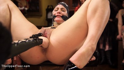 Photo number 1 from Armory Upper Floor Finale Part 2: Nora's Debasement shot for The Upper Floor on Kink.com. Featuring Ramon Nomar, Aiden Starr, Cherry Torn and Nora Riley in hardcore BDSM & Fetish porn.