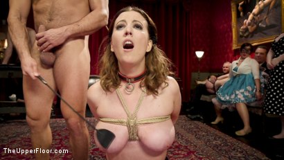 Photo number 2 from Armory Upper Floor Finale Part 2: Nora's Debasement shot for The Upper Floor on Kink.com. Featuring Ramon Nomar, Aiden Starr, Cherry Torn and Nora Riley in hardcore BDSM & Fetish porn.