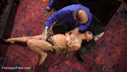 Photo number 5 from Armory Upper Floor Finale Part 2: Nora's Debasement shot for The Upper Floor on Kink.com. Featuring Ramon Nomar, Aiden Starr, Cherry Torn and Nora Riley in hardcore BDSM & Fetish porn.